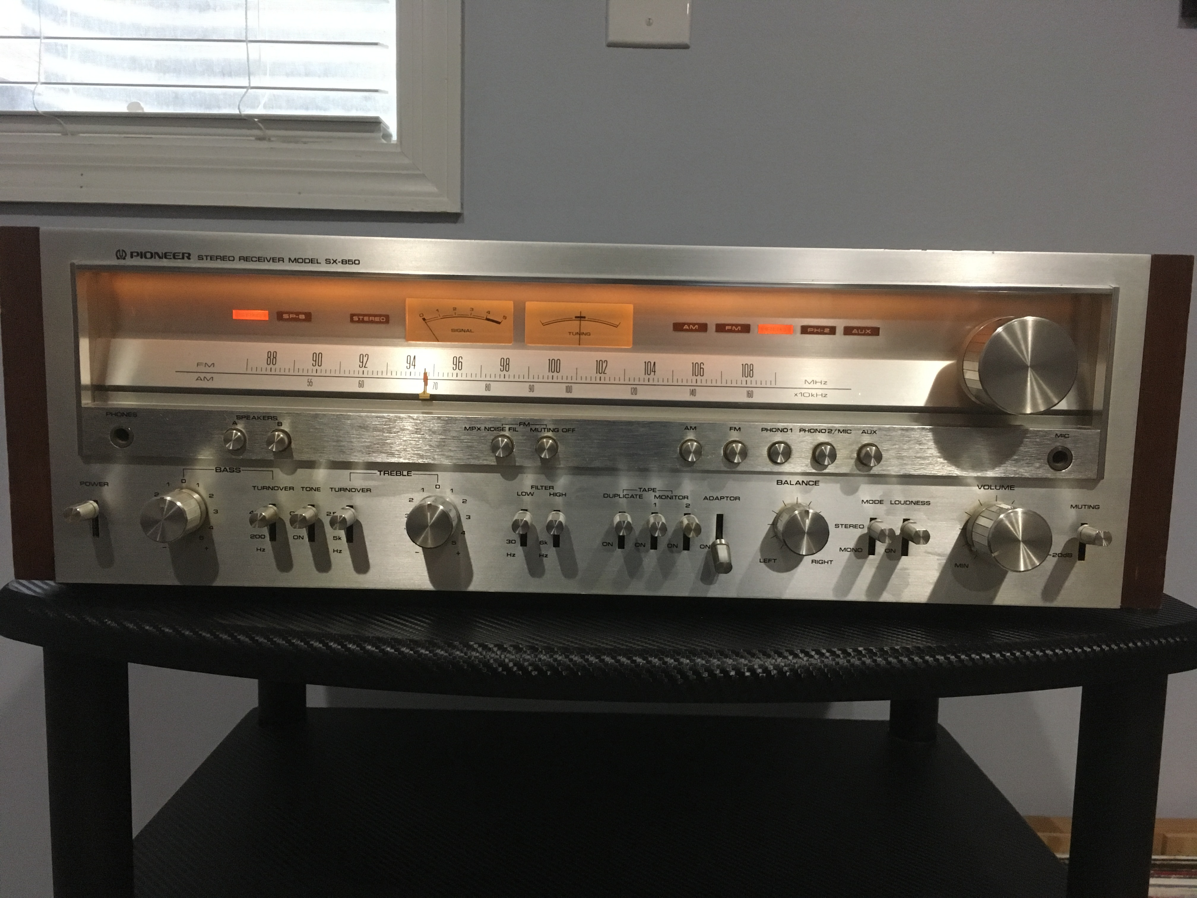 Pioneer SX - 850 Stereo Receiver